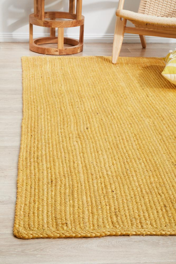 Perky Yellow Rug