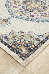 Eclectic TwoOTwo White Runner Rug