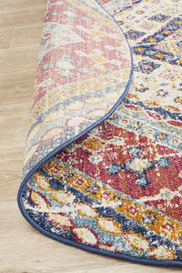Eclectic TwoOThree Round Multi Rug