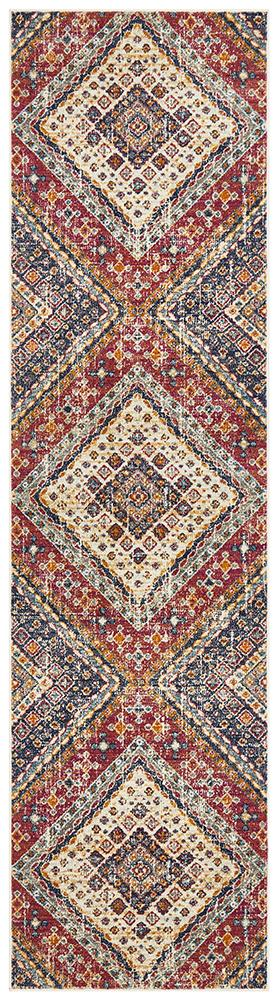 Eclectic TwoOThree Runner Multi Rug