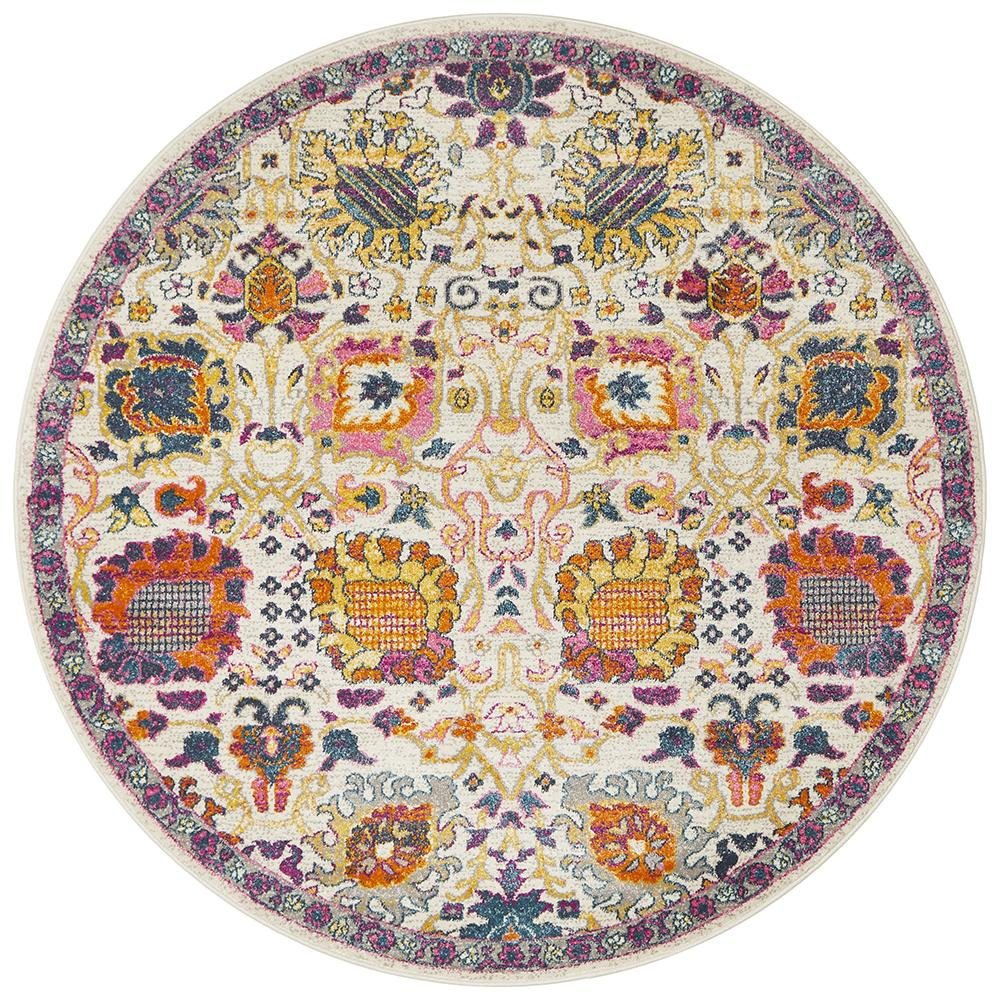 Eclectic TwoOSix Multi Round Rug