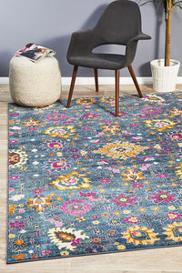 Eclectic TwoOneO Blue Rug