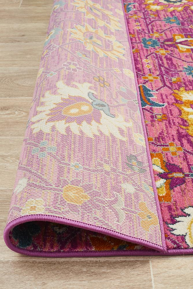 Eclectic TwoOneO Fuchsia Rug