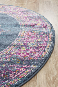 Eclectic TwoOneOne Round Rug