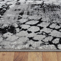 Beantown Leopard Grey Rug
