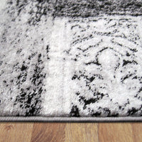 Beantown Marble Grey Rug