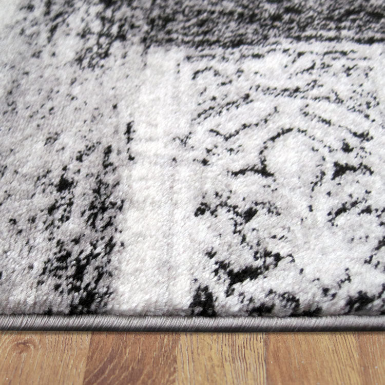 Beantown Marble Grey Runner Rug