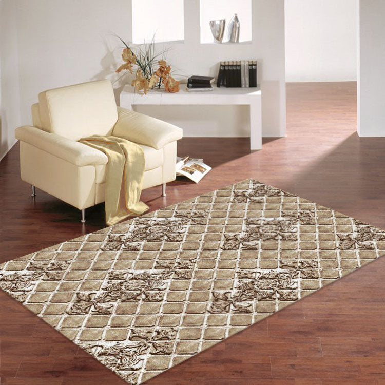 Beantown Diamond Beige Rug