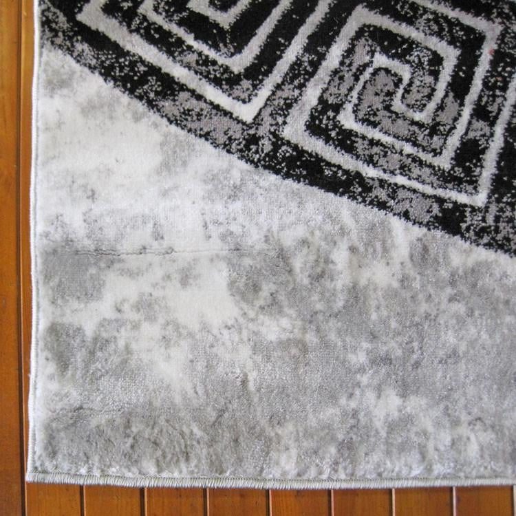Boston Collection 6447 Grey Runner Rug