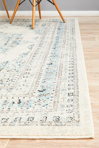 modern designs fuse with classic beauty White Rugs