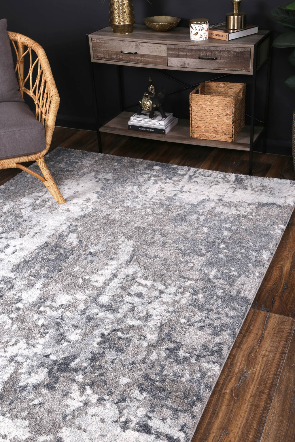 Yuzil Multi Abstract Rug