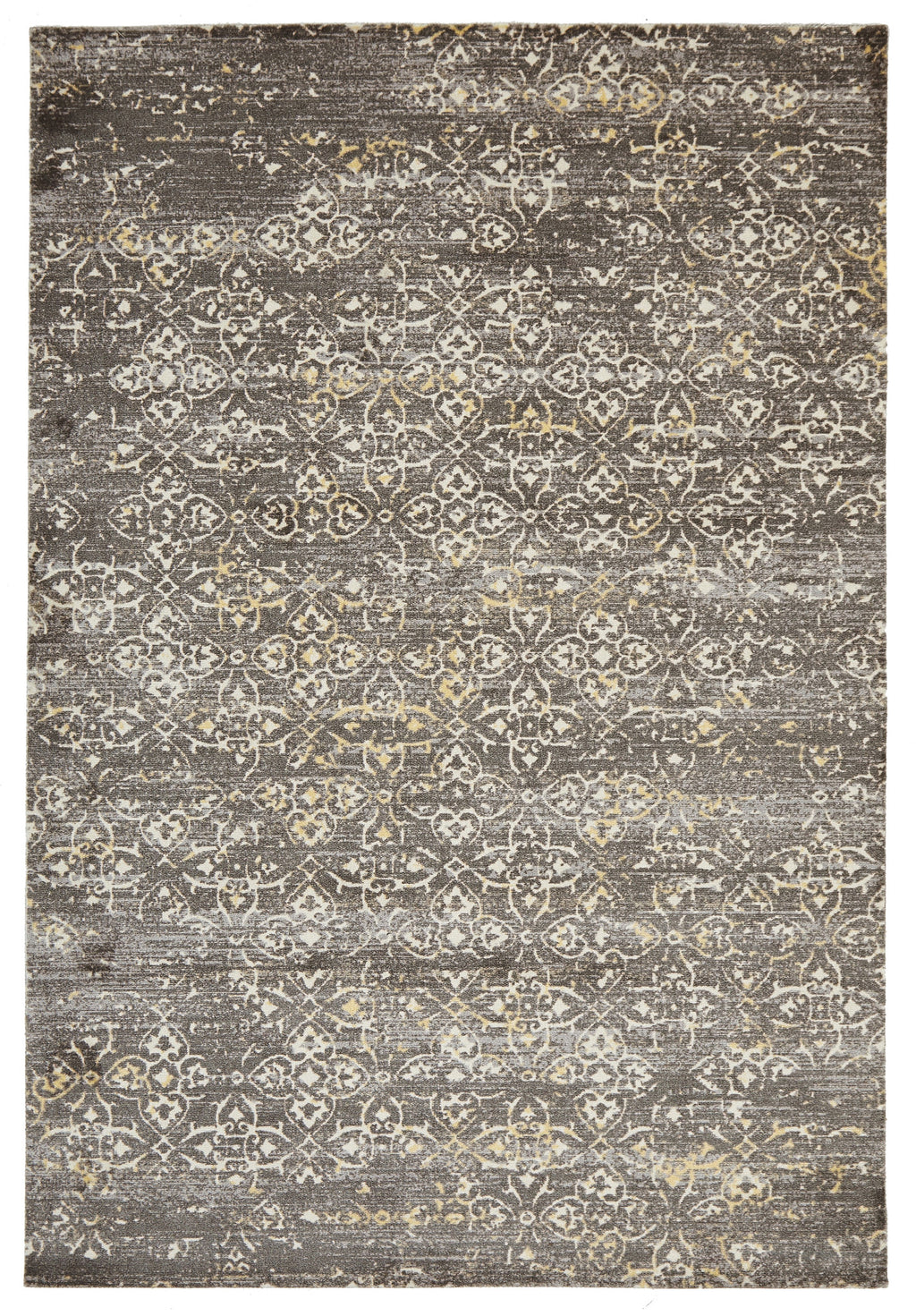 Faded Modern Brown Rug