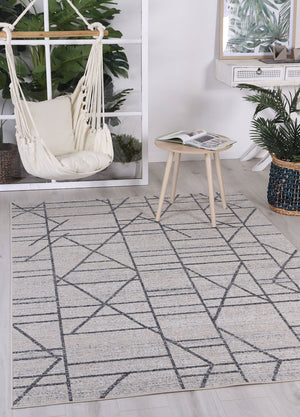 Courtyard Copenhagen Indoor/Outdoor Beige Rug