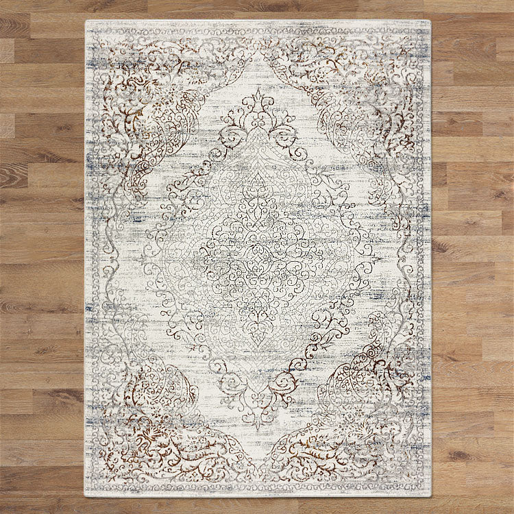 Glamor Beauty Cream Rug