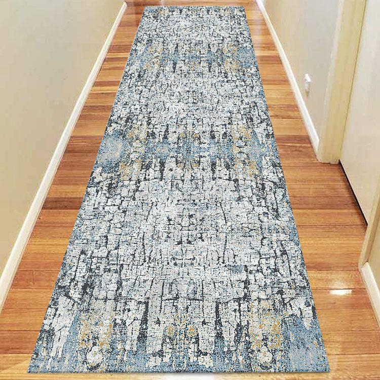 Glamor Quality Blue Runner Rug