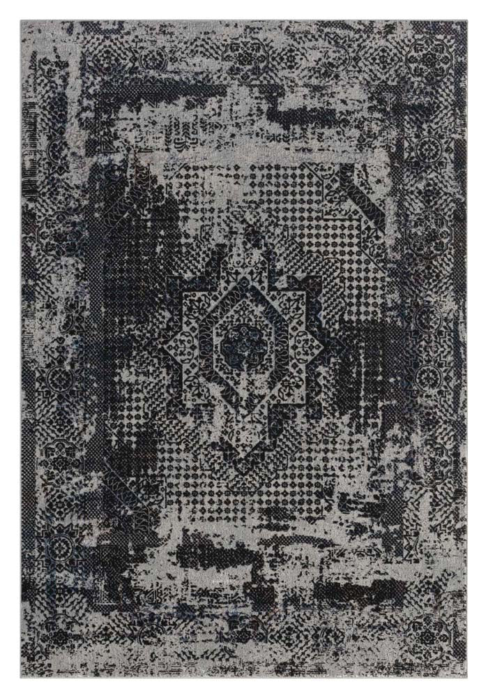 Klare Definite Dark Grey Rug