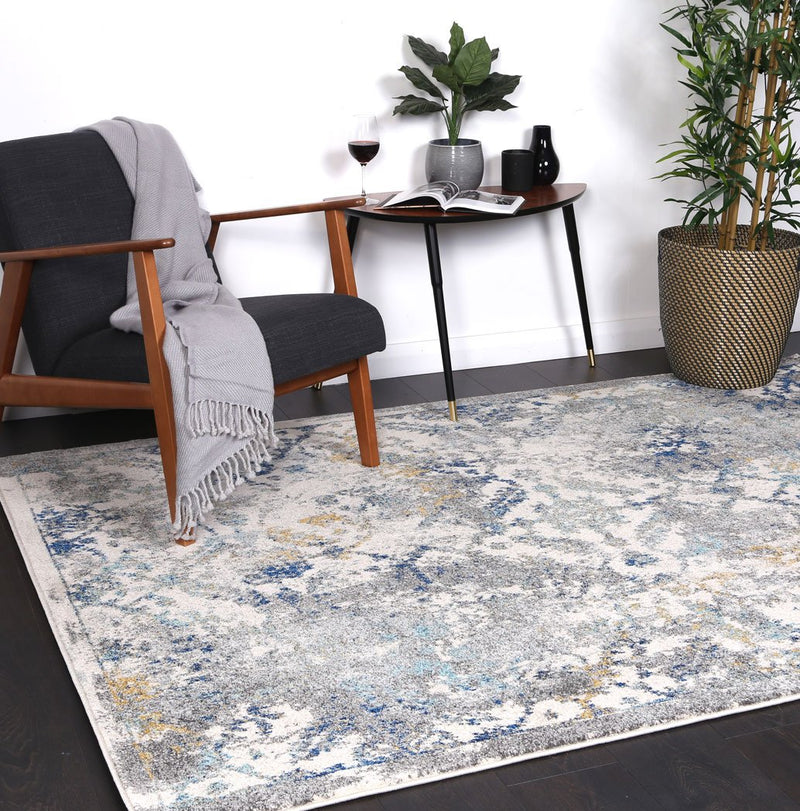 Graceful Fashion Blue Green Rug