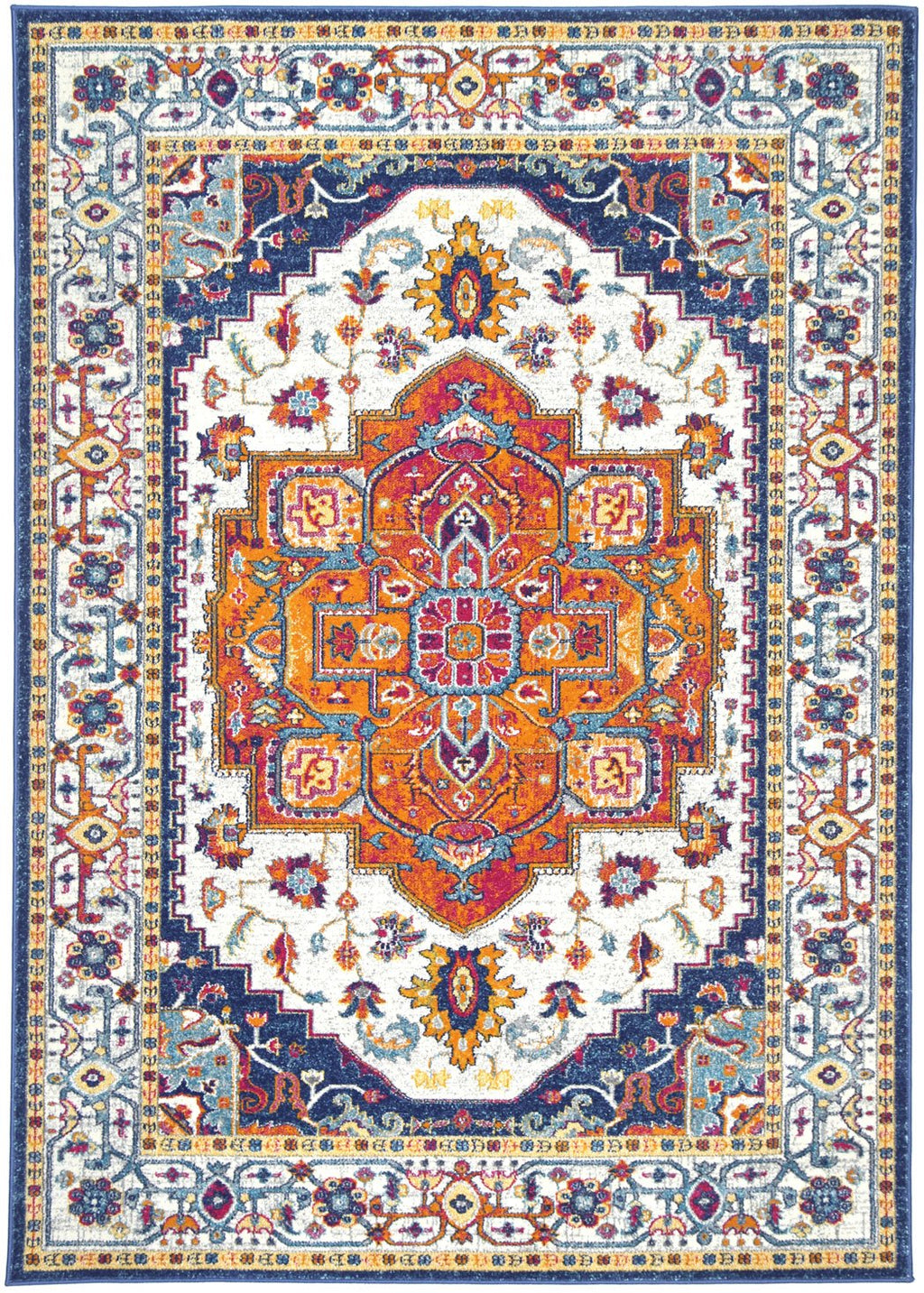 Graceful Oriental Multi Rug