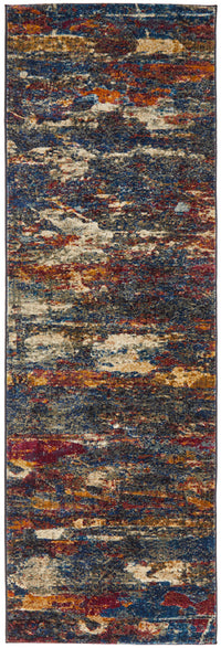 Splash Modern Midnight Rug