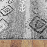 Denser Steady Grey Rug