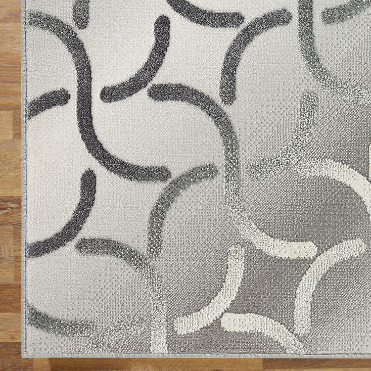 Denser Bushy Grey Rug