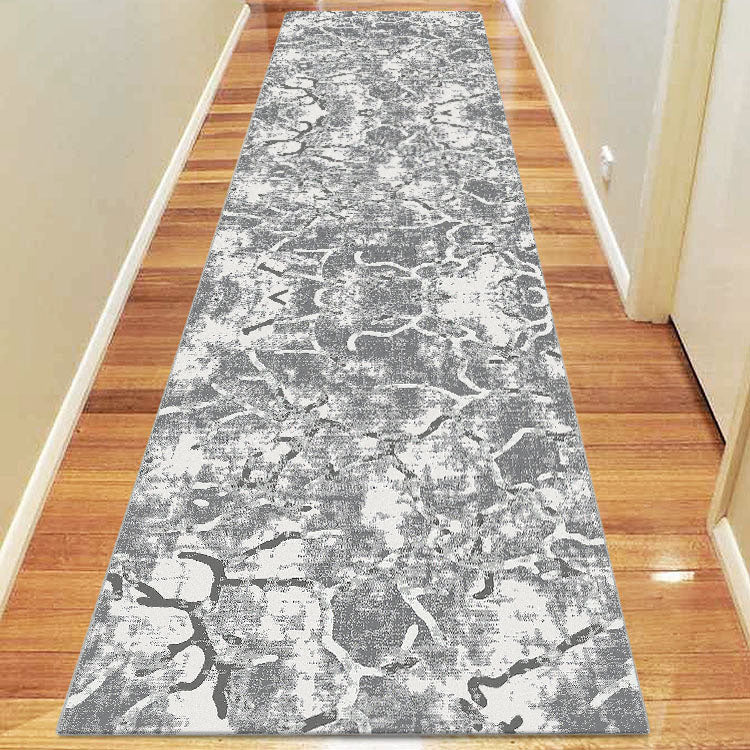 Denser Volume Grey Runner Rug
