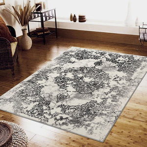 Phantasy Illusion Grey Runner Rug