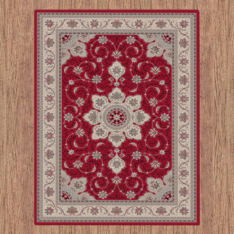 Progeny Medallic Red Rug