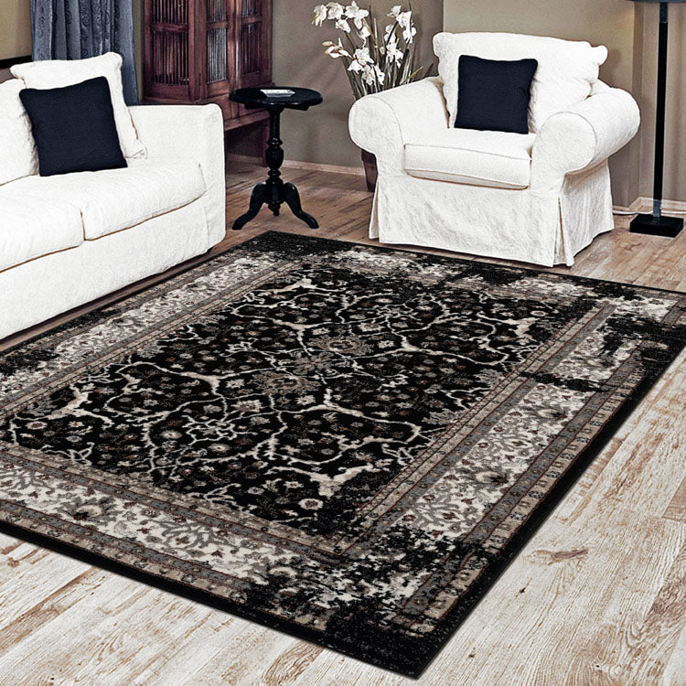 Progeny String Black Rug