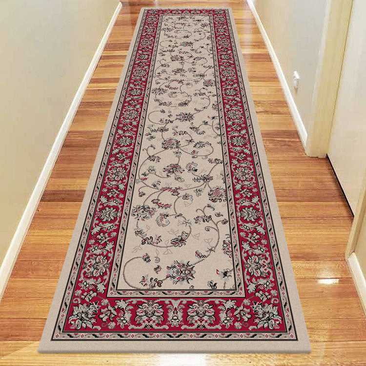 Progeny Sign Beige Runner Rug