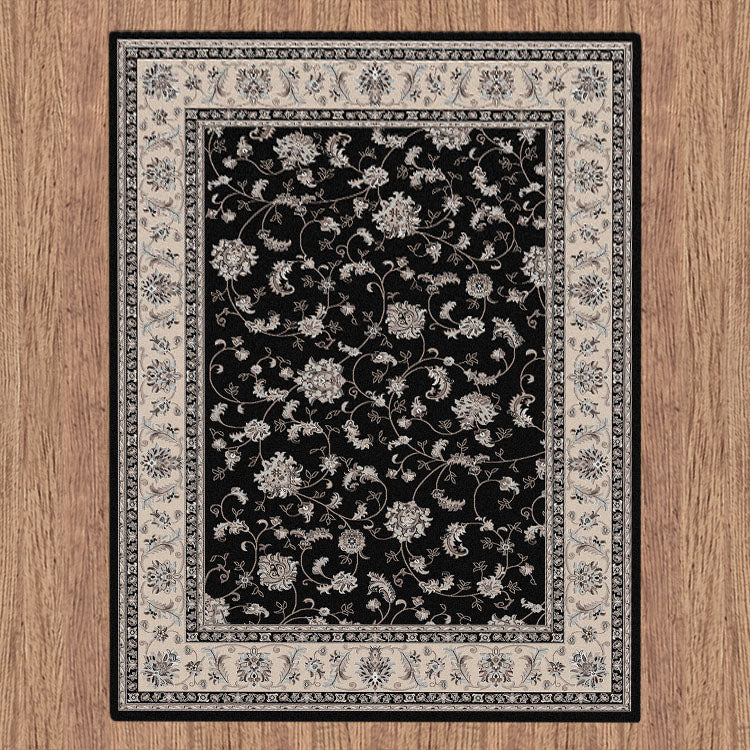 Progeny Sign Black Rug
