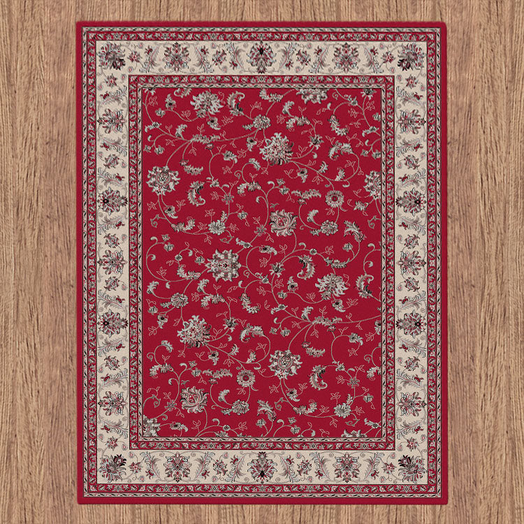 Progeny Sign Red Rug
