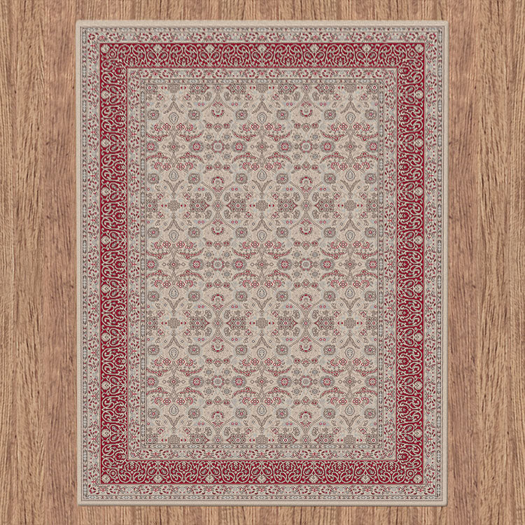 Progeny Badge Beige Rug