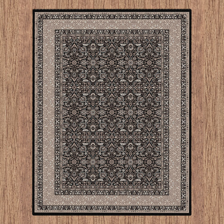 Progeny Badge Black Rug