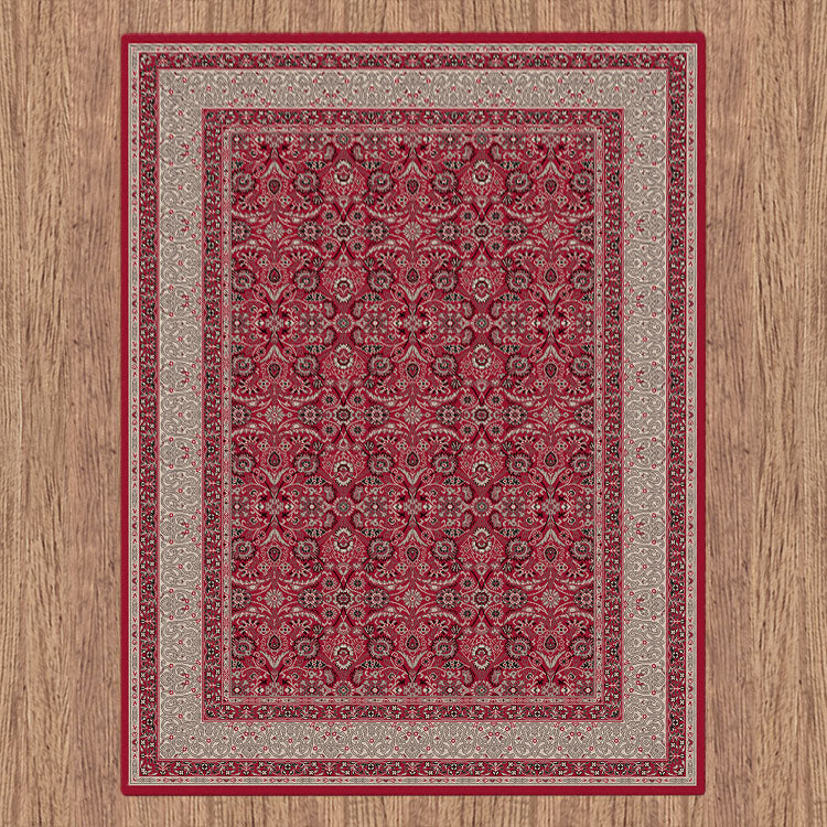 Progeny Badge Red Rug