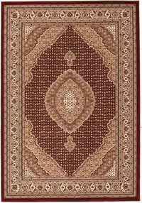 Stunning Formal Oriental Design Red Rug