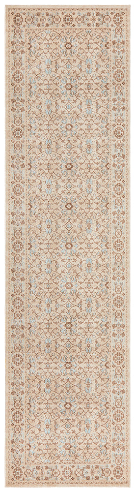 Whisper Washed Bone Runner Rug