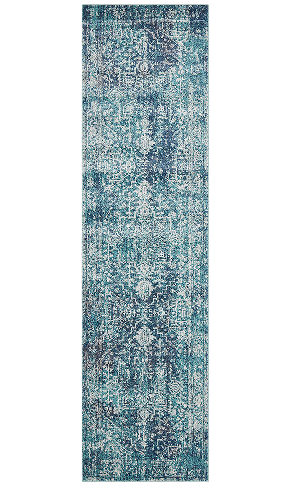 Summon Muse Blue Transitional Rug