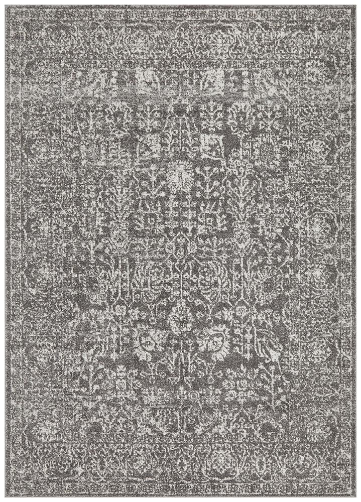 Summon Homage Grey Transitional Rug