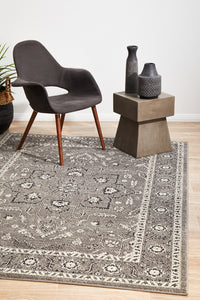 Summon Stone Grey Transitional Rug