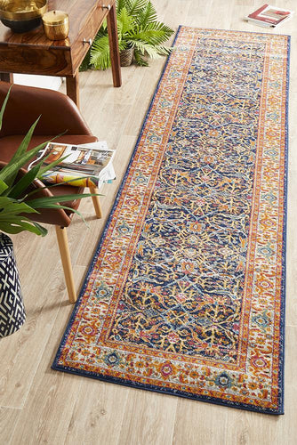 Summon Splash Multi Transitional Runner Rug