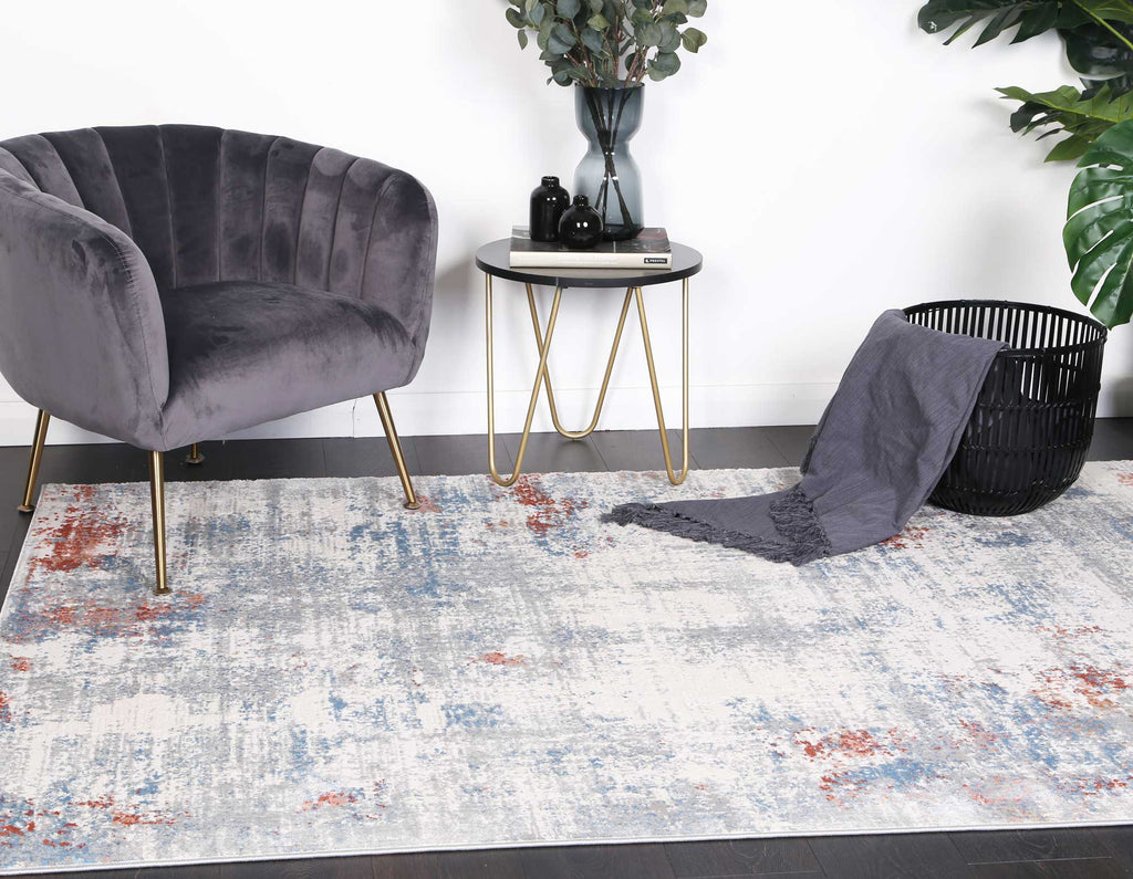 Appearance Aspect Grey Multi Rug
