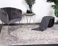 Appearance Visage Grey Multi Rug