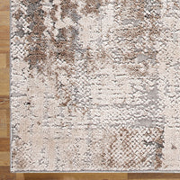 Heartburn Siding Ivory Runner Rug