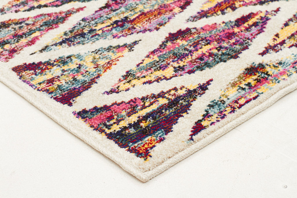 Dawson Modern Multi Coloured Runner Rug