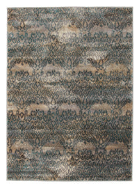 Hanna Lace Rug Blue Natural