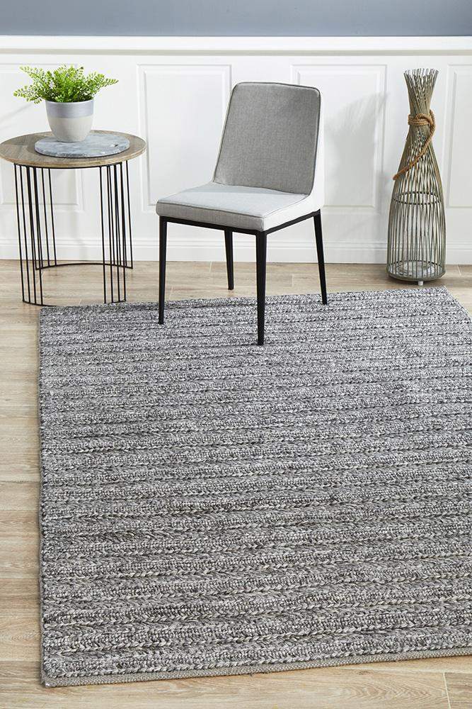 Fruition Steel Rug