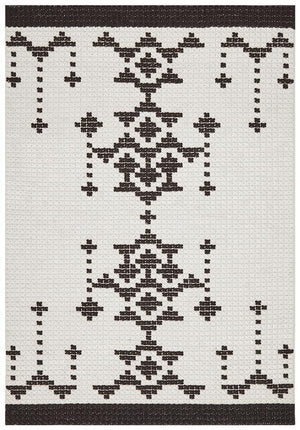 George EightOTree Black Rug