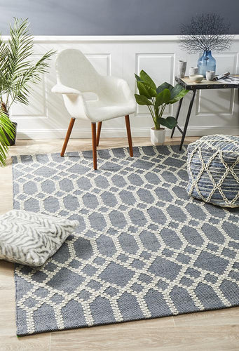 George EightOFive Blue Rug