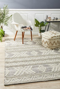George EightOSix Natural Rug